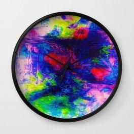 Eudemonia Blooms Wall Clock