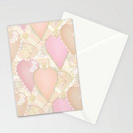 Retro . Valentine's Day . Stationery Cards