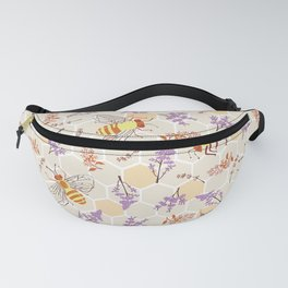 Pollinator Bees Fanny Pack