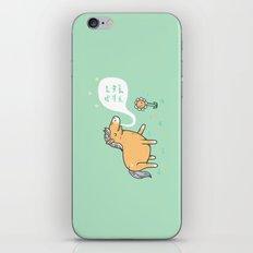 My poo will help you grow! iPhone Skin