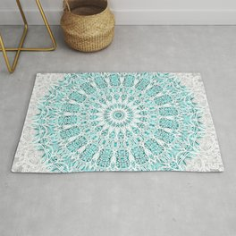 A Glittering Mandala Rug