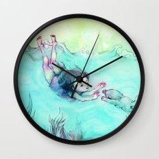 Sea Mermaid Wall Clock