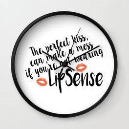 LipSense Wall Clock