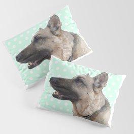 Lucy German shepherd Pillow Sham