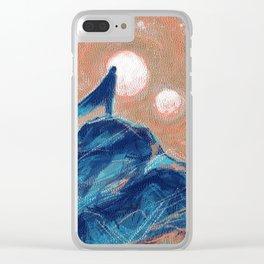 Wandering & Wonder Clear iPhone Case