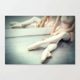 A Rest Between Rehearsals Canvas Print