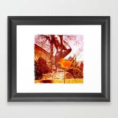 Them Stems Framed Art Print