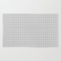 dots Area & Throw Rugs featuring Dots by Georgiana Paraschiv
