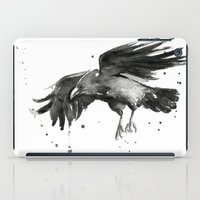 raven iPad Cases featuring Raven by Olechka