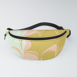 Abstract in Ice Cream Colors Fanny Pack