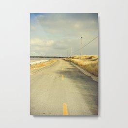 The Road to the Sea Metal Print