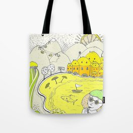 Lemon paradise Tote Bag