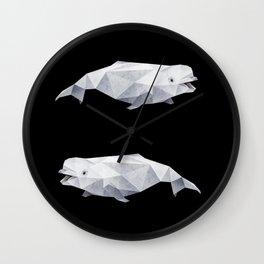 Beluga Whale. Wall Clock