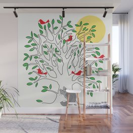 Look What Fluffy Sees! Wall Mural