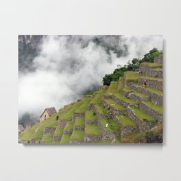 Machu Picchu Magic Metal Print