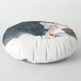 the stargazers Floor Pillow