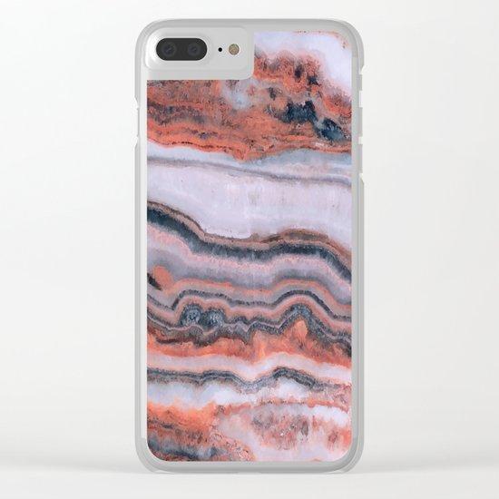 Agate III Clear iPhone Case
