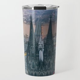 Sunset at the Rhine Travel Mug