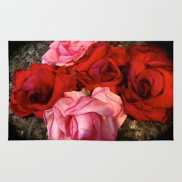 Rose Bouquet Rug