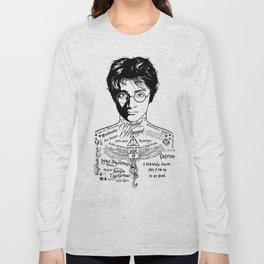 HP Mischief Managed Tat Sketch Long Sleeve T-shirt