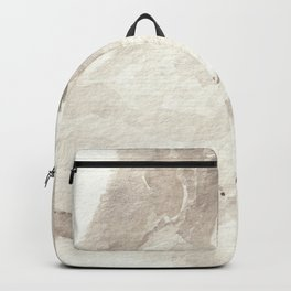Clear Quartz Crystal Watercolor Backpack
