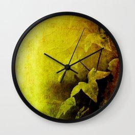 Secret Ivy Wall Clock
