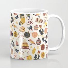 Vintage Christmas Items Coffee Mug