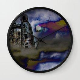 Castle in the Sky Wall Clock