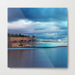 Virtual Ferries Metal Print