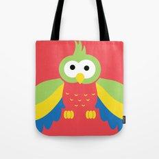 Minimal Parrot Tote Bag