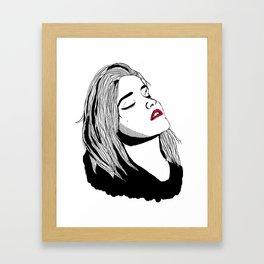 Sky Ferreira Framed Art Print