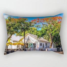 The Six Toed Cat Cafe Rectangular Pillow