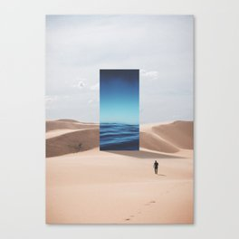 It's All Mirage Canvas Print