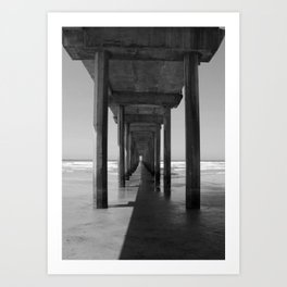 Rising Water: A Perspective on Climate Change Art Print
