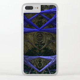 Xeno Blue Clear iPhone Case