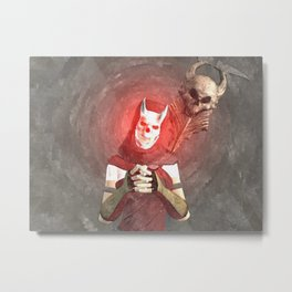 Red Foxxya Metal Print