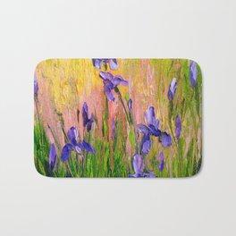Irises Bath Mat