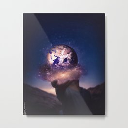 Our Earth Metal Print