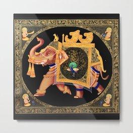 Hindu Ganesha Ganapati Vinayaka Metal Print