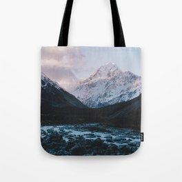 Hooker Valley, Mt Cook Tote Bag