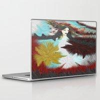 indian Laptop & iPad Skins featuring Indian by Müge Başak