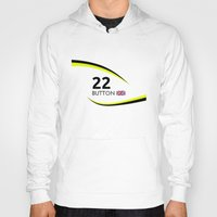 f1 Hoodies featuring F1 Legends - Jenson Button [Brawn] by MS80 Design