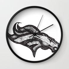 Bronco Wall Clock