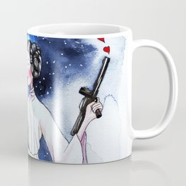 Princess Leia illustration Coffee Mug