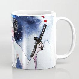 Princess Leia illustration Coffee Mug