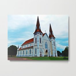 Big Old Wooden Church Metal Print