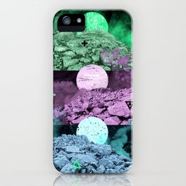 Somewhere not here III iPhone Case