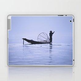 FISHERMAN AT INLE LAKE II Laptop & iPad Skin