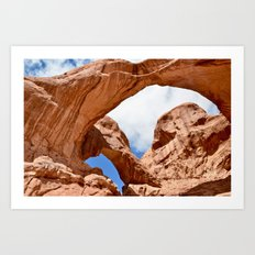 Double Arch Art Print