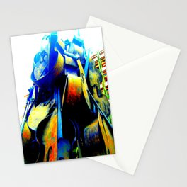 Technicolor Cellos  Stationery Cards
